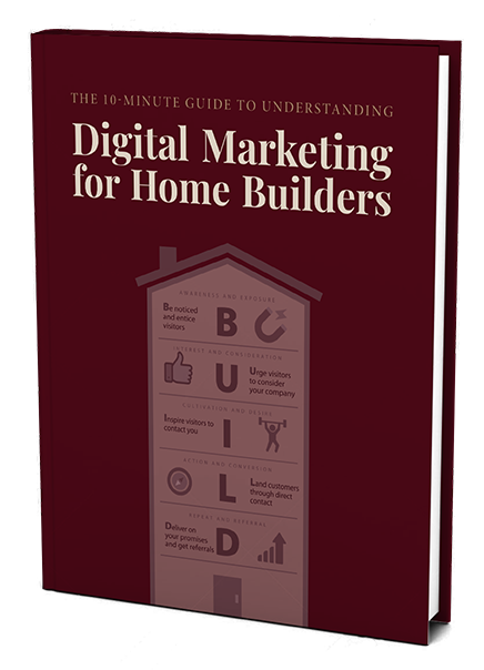 The home builder digital marketing cheat sheet