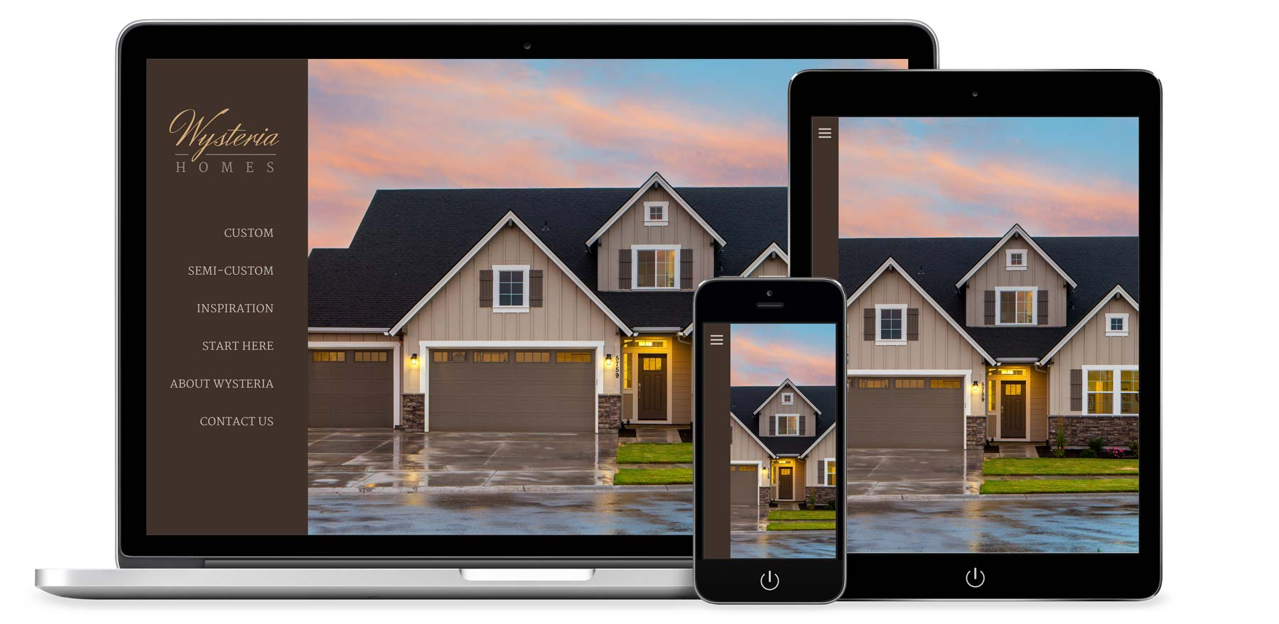 Custom Home Builder Website Development And Design